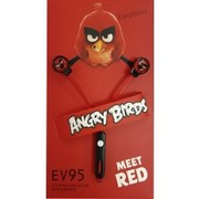 Angry Birds наушники Red
